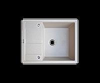 Кухонна мийка Borgio (граніт) PRC-650x500 (мигдаль), фото 1