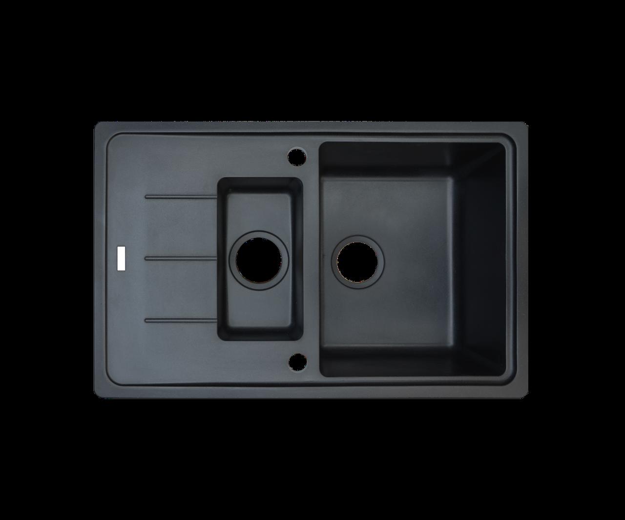 Кухонная мойка Borgio (гранит) PRFC 780x500 (черная)