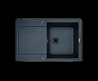 Кухонна мийка Borgio (граніт) PRH-790x500 (чорний), фото 1