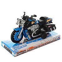 Мотоцикл інерційний 14 см, 9965-1