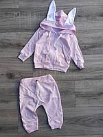 Детский костюм 3-12 мес для девочек Турция оптом