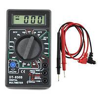 Мультиметр цифровой универсальный DT-830 B для измерения тока