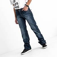 Синие однотонные джинсы Vigoocc 7046. Размер 28 (на 13-14 лет, есть замеры), фото 1