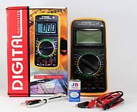 Цифровой мультиметр DT-9208A тестер профессиональный