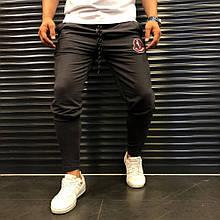 Мужские спортивные штаны Moncler 21931 темно-серый
