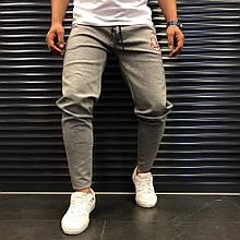 Мужские спортивные штаны Moncler 21933 серые