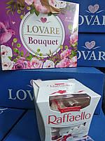 Набор Чай в Подарочной Коробке с ручками и Конфеты Рафаелло в коробке