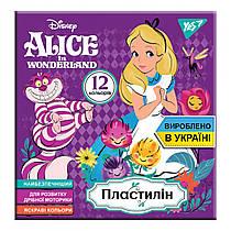 """Пластилин YES """"Alice"""",12 цветов, Украина 240 грамм 540564"""