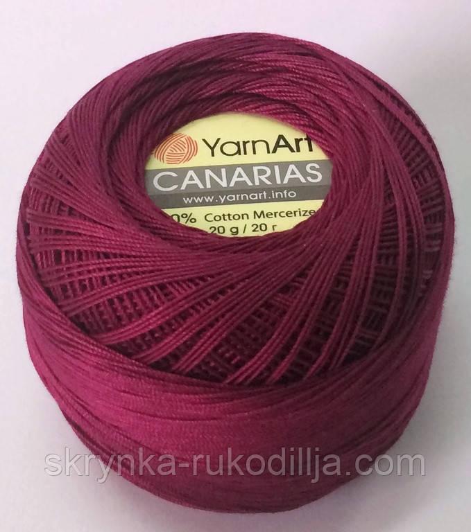 Пряжа YarnArt Canarias 0112 ЯрнАрт Канаріас (тонкий ірис)