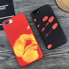 Тепловой индукционный защитный чехол для Xiaomi Redmi Note 7 / Redmi Note 7 Pro Orange, фото 2