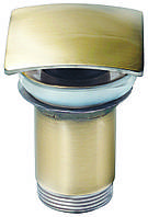 Донный клапан автомат KAISER 8033 Antique