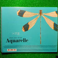 Альбом для акварели А4 Школярык 20 листов