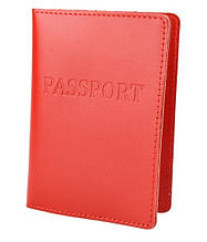 Шкіряна обкладинка для паспорта ST натуральна шкіра