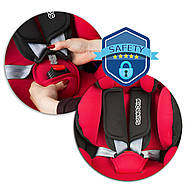 Автокрісло Spinway Pro 0-36 кг - червоний, фото 9
