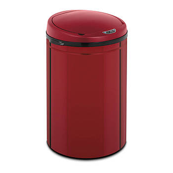 Автоматический мусорный бак - 30 л - красный - внутренний бак - углеродистая сталь Fromm & Starck Марка Европы