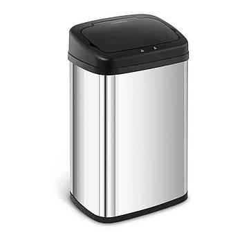 Автоматический мусорный бак 30 л - нержавеющая сталь - датчик 20 см Fromm & Starck Марка Европы