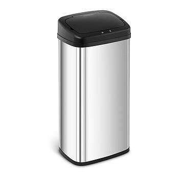 Автоматический мусорный бак 40 л - датчик 20 см - нержавеющая сталь Fromm & Starck Марка Европы