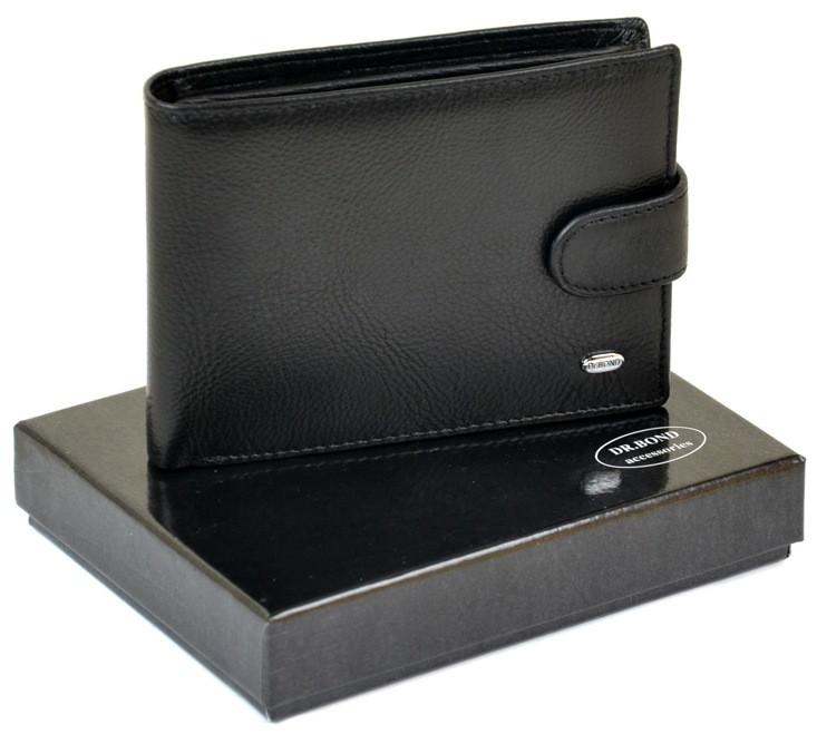 Чоловічий шкіряний гаманець правник Dr.Bond натуральна шкіра