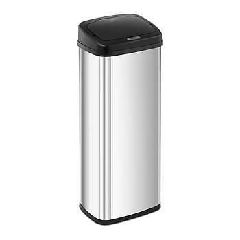 Автоматический мусорный бак 50 л - датчик 30 см - серебристый Fromm & Starck Марка Европы