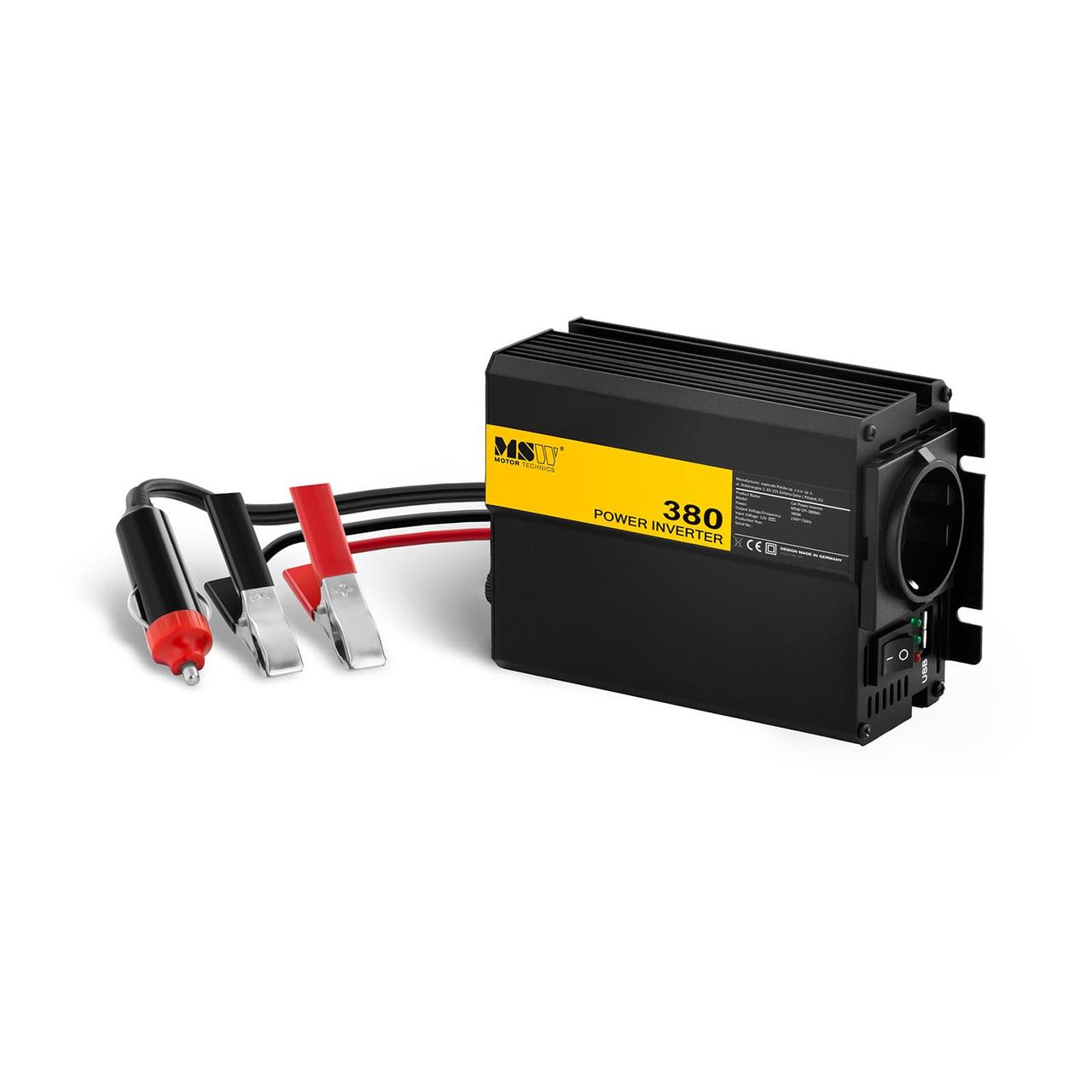 Автомобільний перетворювач - 380 760W - адаптер MSW