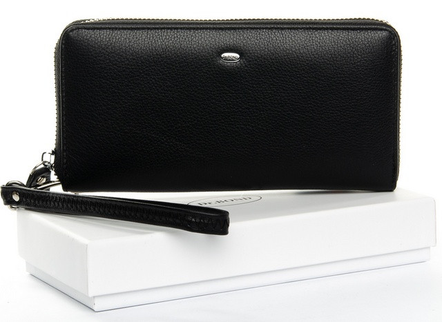Жіночий шкіряний гаманець на блискавці Dr.Bond