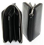 Жіночий шкіряний гаманець на блискавці Dr.Bond, фото 2