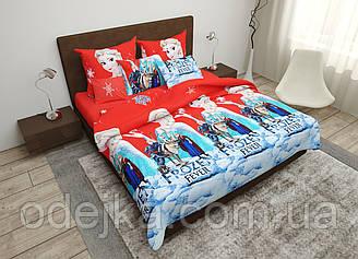 Дитячий комплект постільної білизни 150*220 бавовна (16229) TM KRISPOL Україна