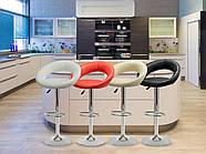 Барный стул со спинкой Forza White, фото 5