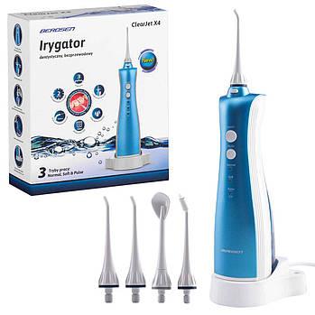 Беспроводной стоматологический ирригатор Berdsen ClearJet X4 Марка Европы