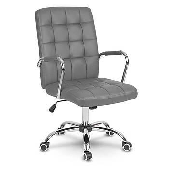 Кожаное офисное кресло Benton grey Марка Европы