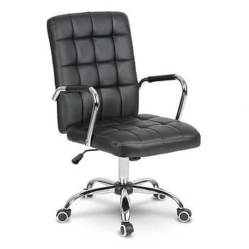Кожаное офисное кресло Benton черный Марка Европы