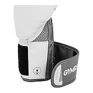 Боксерські рукавички - 8 унцій - Світло-сірий металік Gymrex, фото 3