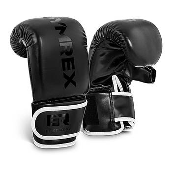 Боксерские перчатки Bag Training - 10 унций - черные Gymrex Марка Европы