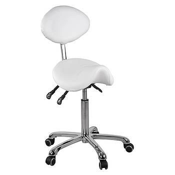 Комфортное кресло-седло со спинкой - белый Physa Марка Европы