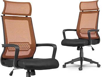 Офисное кресло Вращающееся кресло Nosberg с микро сеткой - механизм НАКЛОНА Марка Европы