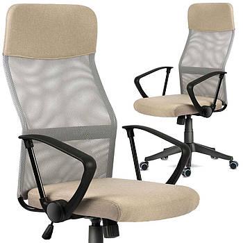 Офисное кресло с микро сеткой Sydney beige sofotel Марка Европы