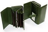 Жіночий шкіряний гаманець Dr.Bond на магнітах з візитницею, фото 2