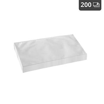 Пакеты с накаткой для вакуумной упаковки - 200 шт. - 20 х 30 см. Royal Catering Марка Европы