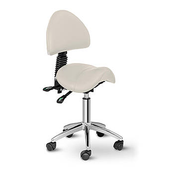Кресло-седло Берлин со спинкой - бежевый Physa Марка Европы