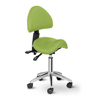 Кресло-седло Берлин со спинкой - светло-зеленый Physa Марка Европы