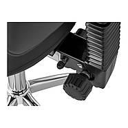 Крісло-сідло Берлін зі спинкою - чорний Physa, фото 3