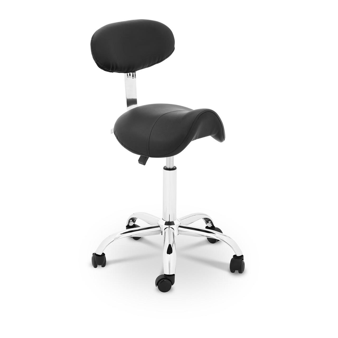Крісло-сідло Гамбург - чорний Physa