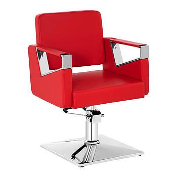 Парикмахерское кресло Physa Bristol красное Physa Марка Европы