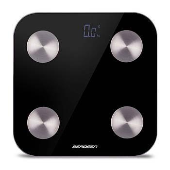 Весы цифровые с Bluetooth BW-142 черные Марка Европы