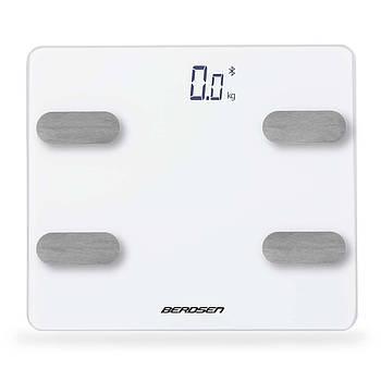 Весы цифровые с Bluetooth BW-143 белые Марка Европы