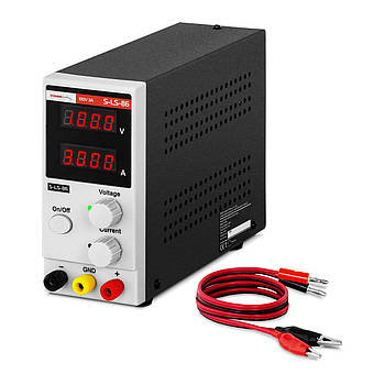 Лабораторний блок живлення - 0-100 В - 0-3 А - 300 Вт Stamos Soldering Марка Європи