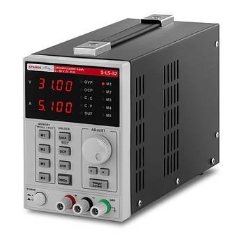 Лабораторний блок живлення - 0-30 В - 0-10 А постійного струму - функція пам'яті - 500 Вт Stamos Soldering Марка Європи
