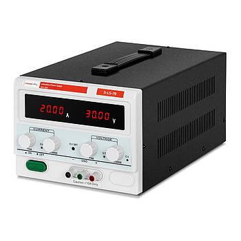 Лабораторний джерело живлення - 0-30 В - 0-20 А постійного струму Stamos Soldering Марка Європи