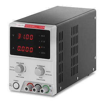 Лабораторний джерело живлення - 0-30 В - 0-5 А постійного струму - USB-кабель Stamos Soldering Марка Європи