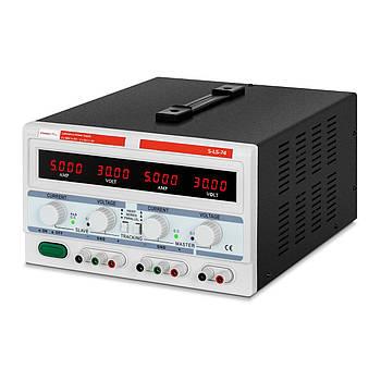 Лабораторний джерело живлення - 0-30 В - 0-5 А постійного струму - трьохканальний Stamos Soldering Марка Європи